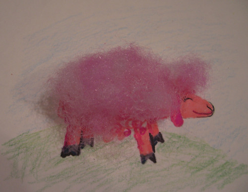Cottoncandy sheep