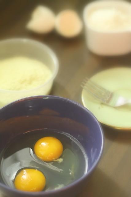 preparing potato pancakes