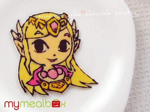 Princess Zelda chocolate panting