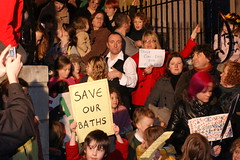 Don't Con-Dem our baths (Alex_Banahene) Tags: manchester baths cuts levenshulme manchestercitycouncil condemcuts