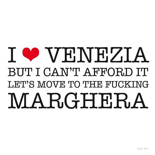 I can't afford Venezia