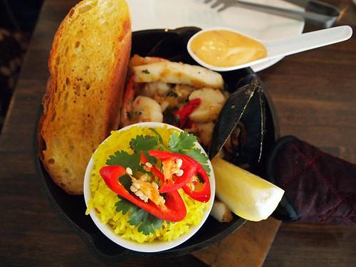 Portuguese seafood@BistroC