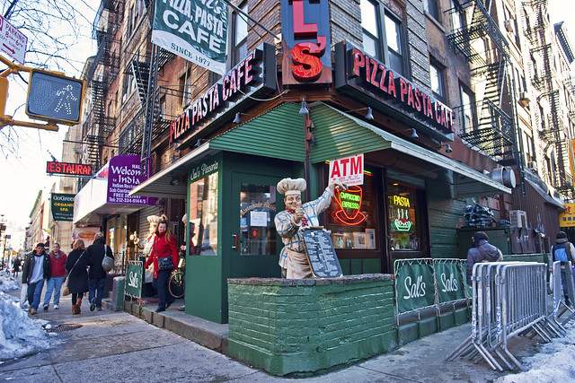 Sals Pizza by Harris Graber