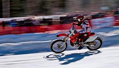 Motorrad (isnogud_CT) Tags: schnee winter bike tirol kalt eis spikes eisbahn motorrad stereich weissenbach