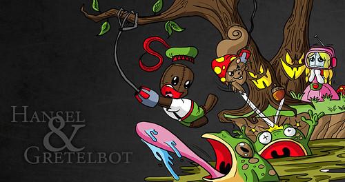 LittleBigPlanet - Hansel & Gretelbot