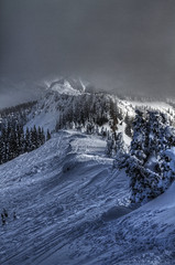 Options (Zach Dischner) Tags: winter snow ski cold ice nature clouds creek canon eos colorado wolf skiing natural dramatic powder ridge 7d area bowls cornice chutes tamron1750 canon7d