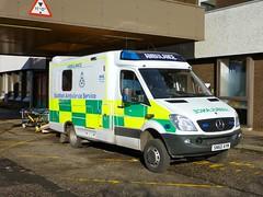 This time it is a 4x4! (barronr) Tags: scotland 4x4 stirling ambulance ae scottishambulanceservice stirlingroyalinfirmary