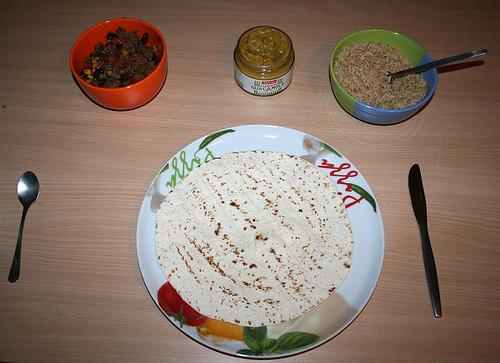 27 - Burrito füllen Anfang