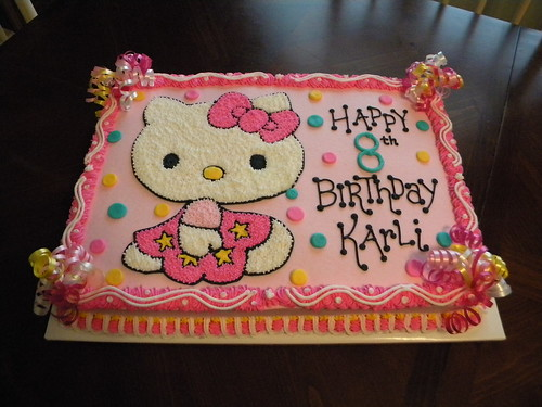 hello kitty sheet cakes