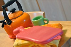 all fever and chills (waldorf mama) Tags: cup waldorf flame teapot flu lecreuset hotwaterbottle steiner fireking jadeite shelleycaskey waldorfmama