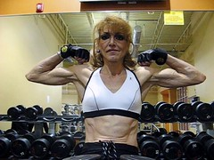val 2s36 (Jonathan Mangold) Tags: muscles women muscular bodybuilding mature biceps flexing veiny