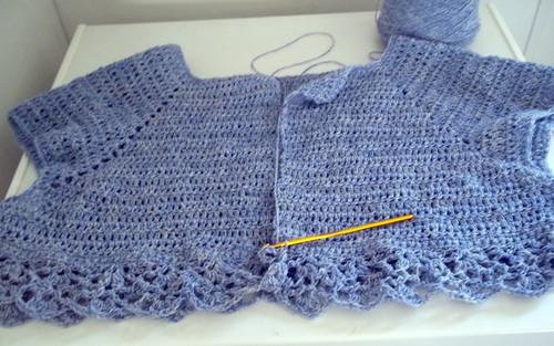 Crochet Cardigan CAL