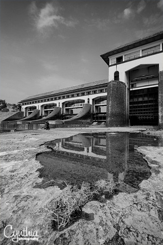 Bendungan Walahar - Reflection (BW)
