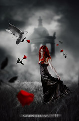 RED ROSES TO MY TOMB (grENDel ART Joo Martins) Tags: red roses cemetery fog artwork tomb gothic goth vermelho bands metalmusic verglas rosas bookcovers doves grendel marillion progrock metalbands progressivemusic progmetal musicbands gothicmusic gothbands dronemusic joomartins arenaband grendelart ambiencemusic gothicbands arenamusic