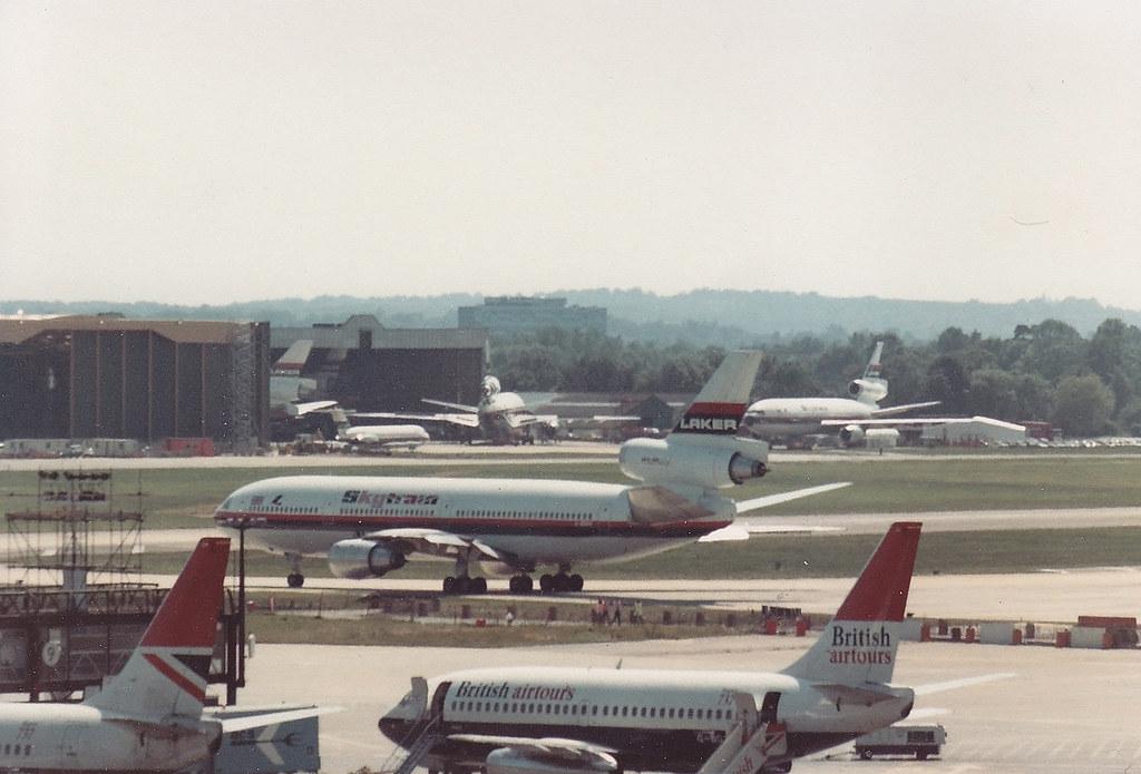 Laker DC10 Gatwick 1979