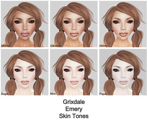 Grixdale - Emery  - Skin Tones (original)