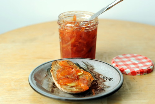 blood orange and meyer lemon marmalade