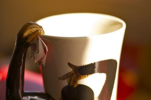 Big monkey mug of tea brewed double strong