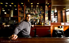 Gladstone Hotel Bartender (The Lazy Photographr) Tags: street people urban beer bar pub gritty bartender torontophotowalks canont2i topwts gladstonehotelportraits