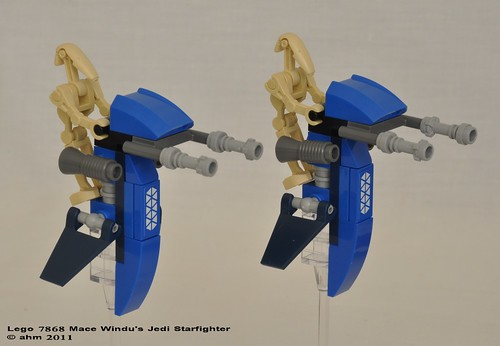 Star Wars Lego 7868 Mace Windu's Jedi Starfighter