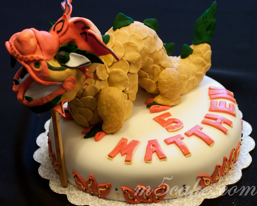 Chinese Dragon Cake - 1