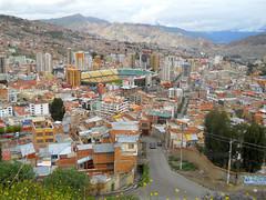 La Paz - aerial