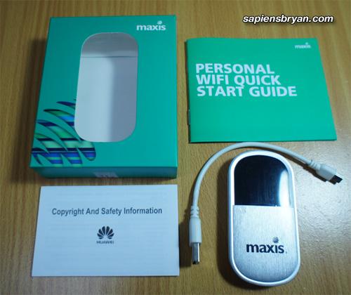 Maxis WiFi Modem (E5832)