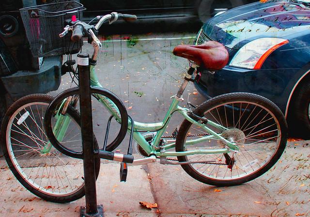 bicycle on newbury street