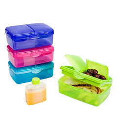 SLIMLINE QUAD LUNCHBOX