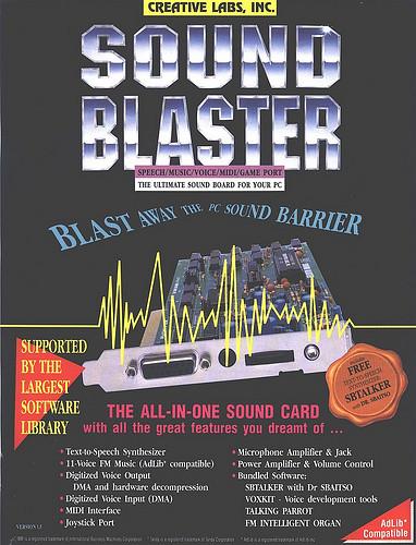 sound blaster 16 pci driver