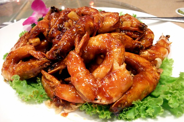 Stir-Fried Prawns with Tamarind Sauce
