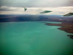 Lago Argentino, Provincia de Santa Cruz (Cristina Bruseghini de Di Maggio) Tags: santa lago nikon air cristina cruz aeropuerto aire avion argentino calafate aerea turquesa dimaggio anawesomeshot bruseghini macrisbruse