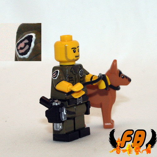 Custom minifig For JD - Side View 2