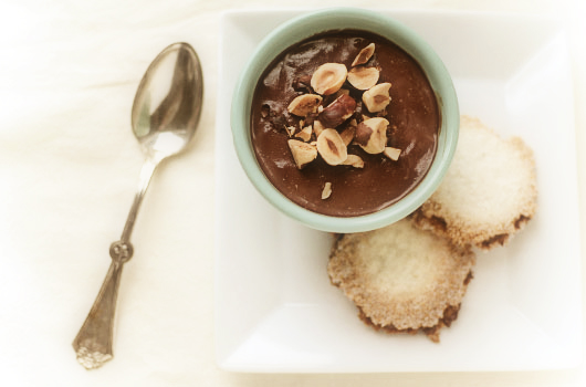 chocolate hazelnut panna cotta with macarellas panna cotta adapted ...