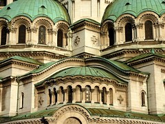 Detail at the Alexander Nevsky Cathedral (Frans.Sellies (off for a while)) Tags: church cathedral sofia kathedrale kirche bulgaria orthodox cathedrale bulgarie orthodoxchurch bulgarije bulgarien  bulharsko bulgaristan             p1280774