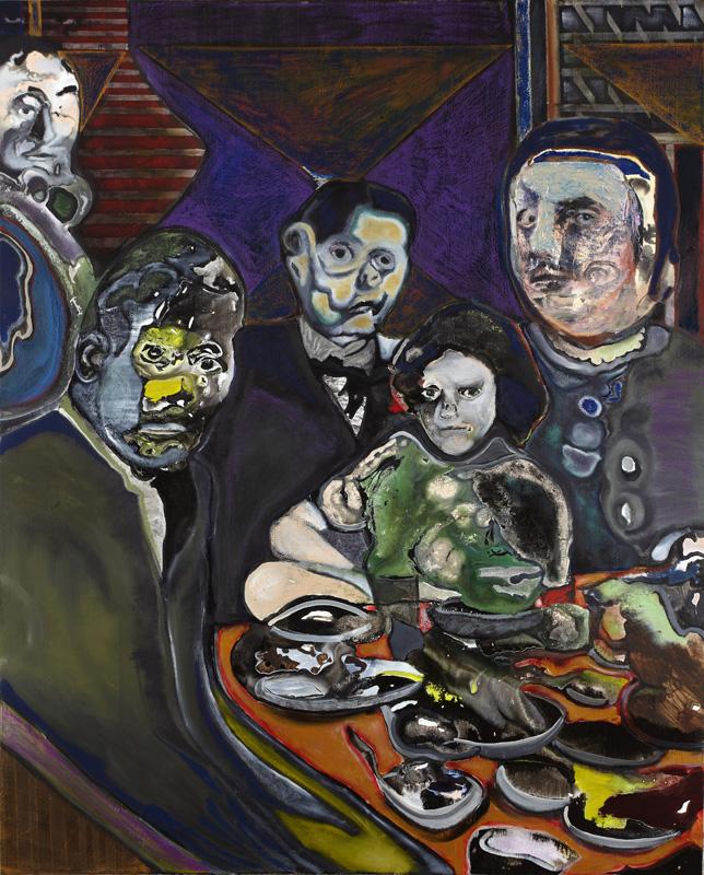 maya bloch Untitled, 2011. acrylic on canvas, 59x47 inches