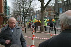 John Sergeant (Jeff And) Tags: ealing shopmobility johnsergeant