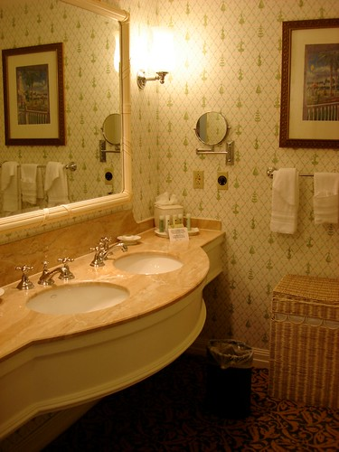 Double Sinks at the Grand Floridian