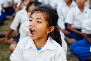 Cambodian School Girl