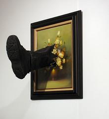 Mark Jenkins - Kicked Painting