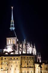 Mont Saint-Michel (tomosang R32m) Tags: france saint night michel  mont