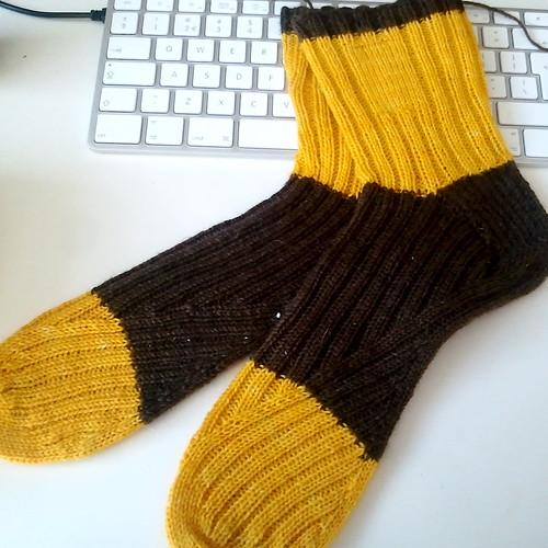 Francie socks for BIL