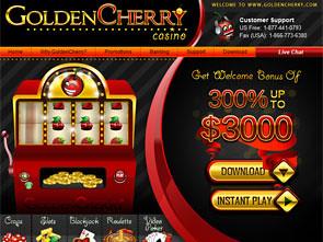 GoldenCherry Casino Home