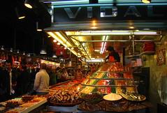 La Boqueria Market (Py All) Tags: barcelona light spain europe neon commerce market bcn catalonia espana espagne marché boqueria barcelone laboqueria rambla néon catalogne