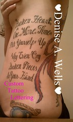 Lyrics Lettering Tattoo Design by Denise A. Wells (Denise A. Wells) Tags: flowers blackandwhite tattoo artwork artist heart girly lettering tattoodesign tattooflash workofart barlowgirl lovetattoo calligraphytattoo girlytattoos flowertattoos customlettering tattoophotos beautifultattoo letteringtattoo brokenhearttattoo scripttattoo nametattoos tattooimages tattoolettering tattooimage tattoophoto tattoopicture tattoosforgirls tattoodesignsforwomen lyrictattoos prettytattoo deniseawells creativetattoos lyricaltattoo tattoolyrics customtattoodesign uniquetattoodesigns prettytattoodesigns girlytattoodesigns nametattooideas prettytattoodesign detailedtattooscript eleganttattoodesigns femininetattoodesigns tattoolinework cooltattoodesigns calligraphylettering uniquecalligraphydesign cursivetattoolettering fancycursivetattoolettering girlytattooideas tattooalphabet lostlovetattoo beautifulletteringtattoo beautifulletteringtattoodesign customletteringtattoo brokenheartletteringtattoo brokenpiecestattoo tattooedlyrics lyricaltattoodesign tattoosoflyrics bestgirlytattoos professionalletteringtattoos typographictattoodesigns flowerfonttattoosbydeniseawells brokenhearttattoodesign barlowgirllyricstattoo ribtattoosforgirls ribtattoosforwomen christianfishtattoodesign teardroptattoodesign brokenheartlyricstattoo