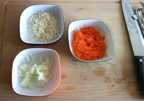 15 - zerkleinertes Gemüse