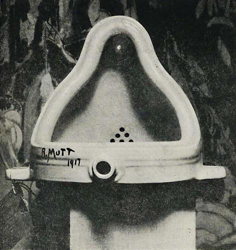 [ D ] Marcel Duchamp - Fountaine (1917) cut