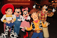 Cowboy Cookout BBQ Tea Party with the Disney Characters