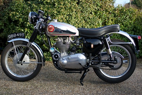 1958 BSA DBD34 Goldstar Left Profile by Biebuyck
