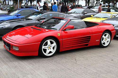 """Ferrari 348 Spider """"DC 6911"""","""
